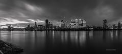_C9Q2905-Pano-1-2 (rodwey2004) Tags: london landscape nightphotography longexposure reflection canarywharf twilight