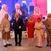 PM Netanyahu and his wife Sara in an economic conference led by Indian PM ModI