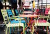 Rainy winter day (mkk707) Tags: film meinfilmlab analog wwwmeinfilmlabde zeissikoncontaflexiii carlzeisstessar50mmf28 kodakportra800 35mmfilm zeissikonstyle vintagefilmcamera vintagelens germancameras bokeh frankfurtammain germany rain chairs reflections regen