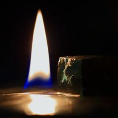 MacroMondays - Flame (Didier Vignau-Bégué) Tags: macromondays flame basselumière lowkey