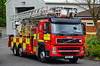 NK10DVY (firepicx) Tags: tyne wear fire rescue service gosforth station 999 emergency lineup volvo appliance engine truck lorry wagon category twfrs north east alp aerial ladder platform nk10dvy e03