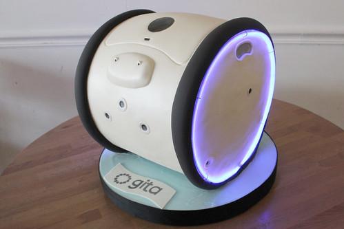 Gita Robot Cake