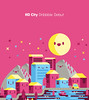HO city (Stick-A-Thing_____S_____ A_____T) Tags: city character happy houses kawaii sat stickathing