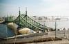 Liberty Bridge (boootleg) Tags: budapest wien 35mm bridges castle travel photography lomo europe kodak ektar porta color vision architecture gallery bridge sunrise trip hungary pentax duna river art