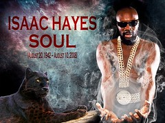 Isaac Hayes could have done Black Panther's Soundtrack (dragoku) Tags: isaachayes blackpanther movie words text meme soundtrack album snowflakes shaftmotion politic publicdomain music