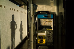 **** (Valeria Tofanelli) Tags: streetphotography shadows phone light composition street rome ricoh candid