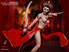 PHICEN PL2017-109 Arkhalla, Queen of Vampires - 04 (Lord Dragon 龍王爺) Tags: 16scale 12inscale onesixthscale actionfigure doll hot toys phicen tbleague seamless female
