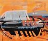 Jim Harris: Njord. (Jim Harris: Artist.) Tags: njord art arte metaphysical abstractart abstractexpressions space cosmos peinture zeitgenössische mythology japan museumschooloffinearts technology technik taide