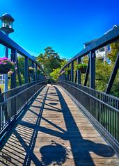 Hotchkiss Bridge shadows-2 (Singing With Light) Tags: 2017alpha6500 23rd gulfbeach milford mirrorless singingwithlight sonya6500 colorful photography september singingwithlightphotography sony sunrise walnutbeach