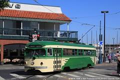 SFMTA 1006 (Davuz95) Tags: sf san francisco tram trolley pcc line f e embarcadero peter witt atm streetcar