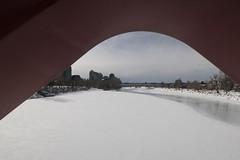 Peek A Boo (davebloggs007) Tags: bow river peace bridge calgary