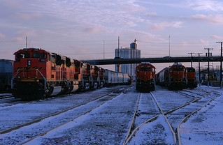 LNG Twilight on the BNSF