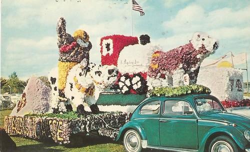 """Homecoming Parade Float""- Concordia College, Moorhead, Minnesota"