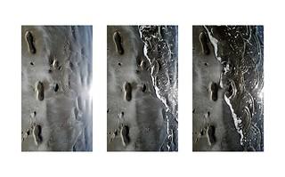 Tri-steps Triptych