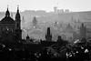 Prague from Strahov monastery (Roberto Bendini) Tags: czech republic strahov prague monastery dawn