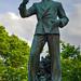 Statue of Floyd B. Olson, North Minneapolis