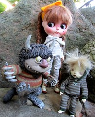 Little Monsters (SJB Dolls) Tags: monsters blythe doll