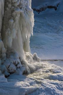 Frozen Rideau Falls
