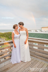 GingerSnaps-1779 (sugarsnapobx) Tags: obxwedding beachwedding pineislandlodge sugarsnapobx sugarsnapevents dayofcoordination brides rainbow
