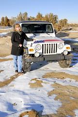 Test_4_ (28)e ~ Sandra (BDC Photography) Tags: farmington newmexico usa jeep rubicon 2006 wrangler unlimited nikon nikond200 sandstone snow tamronaf1750mmf28xrdiiildasphericaliflens nikon67mmcircularpolarizeriifilter tamronda09bayonetlenshood offroad 4wheeldrive chokecherrycanyon