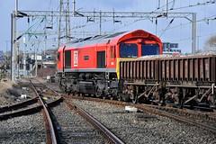 66055 'Alain Thauvette' Bescot Middle Junction (Paul Baxter 362) Tags: class66 66055 alainthauvette dbschenker dbs dbcargo dbc bescot bescotyard bescotmiddlejunction