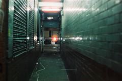 Angel Alley (goodfella2459) Tags: nikon f4 af nikkor 50mm f14d lens cinestill 800t 35mm c41 film analog night angel alley whitechapel east end london martha tabram mary ann connelly pearly poll george yard gunthorpe street jack ripper crime history lights manilovefilm