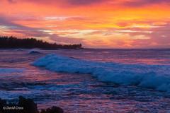 Hawaiian Sunset (buffdawgus) Tags: turtlebay canonef24105mmf4lisusm seascape landscape sunset lightroom6 pacificocean topazsw hawaiianislands surf oahu ocean hawaii canon5dmarkiii oahunorthshore