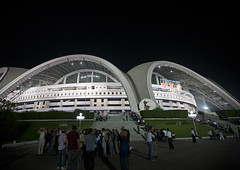 May day stadium at night, Pyongan Province, Pyongyang, North Korea (Eric Lafforgue) Tags: architecturalfeature architecture asia asianethnicity buildingactivity buildingexterior capitalcities city colourimage communism constructionindustry copyspace crowd dictatorship dprk famousplace festival groupofpeople horizontal humanbeing kimilsung lowangle maydaystadium modern nationalstadium night nk116921 northkorea northkorean outdoors patriotism pyongyang sky sport sportvenue stadium traveldestinations urban pyonganprovince 北朝鮮 북한 朝鮮民主主義人民共和国 조선 coreadelnorte coréedunord coréiadonorte coreiadonorte 조선민주주의인민공화국 เกาหลีเหนือ קוריאההצפונית koreapółnocna koreautara kuzeykore nordkorea північнакорея севернакореја севернакорея severníkorea βόρειακορέα