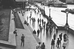 London at Sunset Time (GerardCabestany) Tags: street streetphotography blackandwhite london nikond90 50mm18 people lightroom vsco travel riverthames thames iphone sunset vscofilm vscopreset vscofilm05