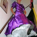 Ball gown on stairs thumbnail