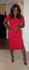 1960s Wiggle Dress (darlene362538) Tags: transgender transvestite transsexual crossdress africanamerican pretty sexy beautiful pumps