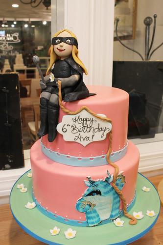 Princess Magnolia Book Birthday Cake