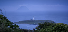 Ailsa Craig and Pladda Lighthouse (TrotterFechan) Tags: ailsacraig kildonan pladda lighthouse seascape night