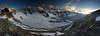 Day 4: Evening at Diavolezza (Gregor  Samsa) Tags: switzerland swiss alps alp alpen alpine berninatour bernina berninarange tourofthebernina hike hiking trek trekking track tracking backpacking wandering outdoor outdoors adventure nature mountains journey path footpath trail evening dusk sunset view vista overlook viewpoint diavolezza light sunlight mountain