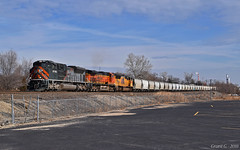 """Westbound Manifest in Kansas City, MO (""""Righteous"""" Grant G.) Tags: wp western pacific up emd power train trains west westbound manifest freight kansas city missouri heritage unit commemorative"""