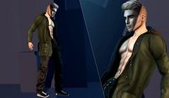 Look 4 (mikleted) Tags: sl second life man men boy fashion blog letre fashionnatic doux vale koer