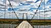 Cruzando el rio Coyle (Miradortigre) Tags: bridge puente suspention colgante patagonia estepa steepe rio river fiume アルゼンチン 阿根廷 аргентина