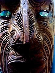 Ol' Blue Eyes - #Mask for Smile on Saturday (violetchicken977) Tags: photostream smileonsaturday mask