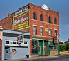 Ask for Butte Beer! (Hammond Deggs) Tags: montana fraternal brothers hall bar saloon tavern drink plastic ghost sign red brick old architecture scandiahall spudmcgees