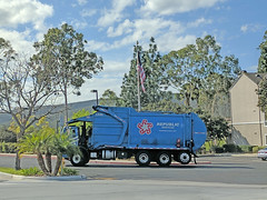 Republic Services Truck 2-13-18 (Photo Nut 2011) Tags: california sanitation wastedisposal garbagetruck trashtruck waste junk refuse garbage trash truck republicservices 1340 sandiego carmelmountain