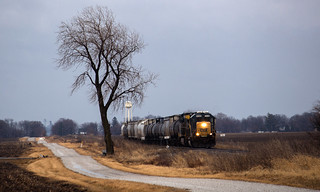 Lone Tree and Train