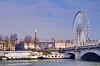 244 Paris en Février 2018 - Place de la Concorde, Obélisque, Grande Roue et Pont de la Concorde (paspog) Tags: paris seine fleuve river fluss rivière france février februar february concorde granderoue obélisque