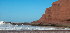 Fishing at the sea (KPPG) Tags: marokko morocco africa afrika sea atlantic atlantik fels legzira beach strand angeln fishing rock meer wasser himmel