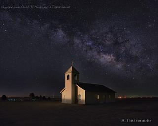 Ralls Chapel Milky Way