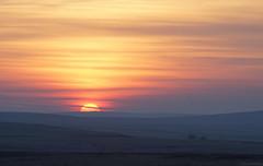 Today's Sunset, Exmoor (EmPhoto.) Tags: emmiejgee exmoor sunset wild nationalpark uk aldermansbarrow sonya7r canon80200mm hike hiking sooc kittuckbarrow threecombesfoot frozenground frosty bitingwindchill naturalcolour landscapepassion