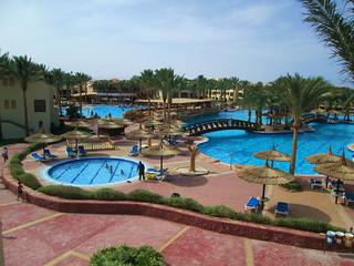 Sea beach aqua park, Sharm El-Sheikh, Egypt