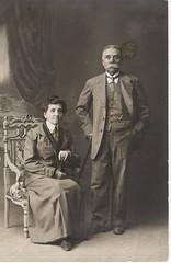 1911-12-11-Nicola e Paolina Caffarini (riccardo-mazzocchi) Tags: nicola e paolina caffarini