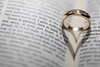 Creating a Wedding Ring, Bible, Love Verse and Heart Shadow Photograph (Bryan Carnathan) Tags: wedding ring day photography photographer photos photo pictures ideas bible heart heartshadow love verse bibleverse tiltshift macro gold goldring jewelry details canon