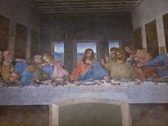 Das Abendmahl / The Last Supper # 2 (schreibtnix on 'n off) Tags: reisen travelling italien italy mailand milan kirche church santamariadellegrazie kunst art leonardodavinci dasabendmahl thelastsupper olympuse5 schreibtnix