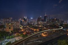 Kuala Lumpur Night Cityscape, February 2018 (Nur Ismail Photography) Tags: skyline architecture city malaysia sunset cityscape landmark modern kuala place park lumpur klcc scene famous business night twin urban kl building view asia tower district landscape dusk downtown skyscraper evening financial sky twilight travel office center malaysian scenic water reflection tall shopping highway petronas scenery centre structure capital blue metropolis